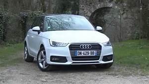 Essai Audi A1 : essai audi a1 sportback 1 6 tdi 116ch s tronic 7 youtube ~ Medecine-chirurgie-esthetiques.com Avis de Voitures