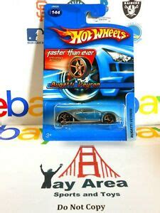 This brand has been in large part defined by outstanding. 2006 Bugatti Veyron Hot Wheels FTE Faster Than Ever Silver Blue CAR Gold Spokes | eBay