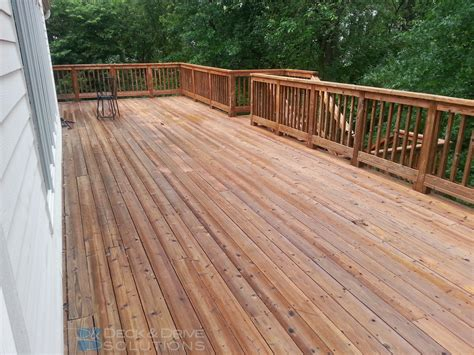 penofin cedar deck stain our work deck and drive solutions part 2