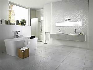 id e carrelage salle de bain moderne avec frais carrelage With salle de bain design avec exemple de décoration de table mariage