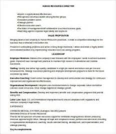 hr resumes 7 free word pdf documents free