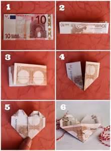 geld als hochzeitsgeschenk über 1 000 ideen zu geldscheine falten herz auf herz aus geld falten geld falten
