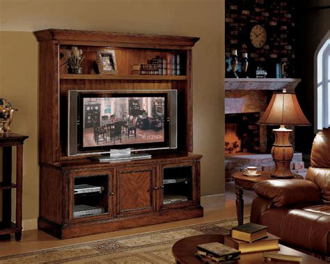 flat screen tv hutch flat panel tv stand traditional wood tv console w hutch