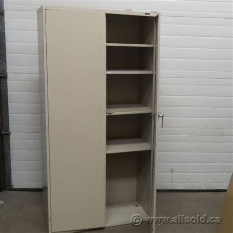 2 door metal storage cabinet global beige 72 quot 2 door metal storage cabinet locking