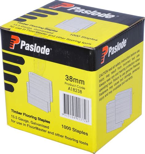 nails staples pty paslode floormaster staples pk5000 38mm agnew building supplies