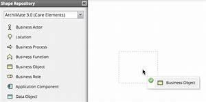 Creating And Editing Archimate Diagrams  U2014 User Manual 12