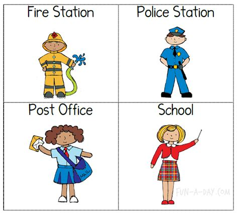 community pictures for preschoolers free coloring pages of community helper hats 111