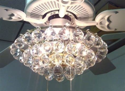 acrylic chandelier type ceiling fan light kit