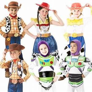 Disney Toy Story Kids Fancy Dress Movie Characters Girls ...