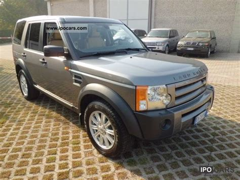 land rover discovery 2007 2007 land rover discovery 3 2 7 tdv6 hse car photo and specs