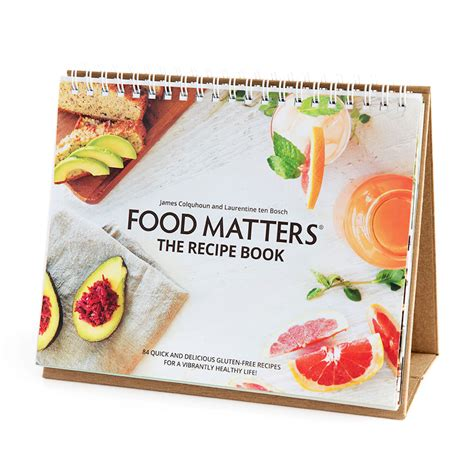 television cuisine food matters recipe book printed edition