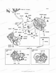 Kawasaki Atv 2009 Oem Parts Diagram For Crankcase