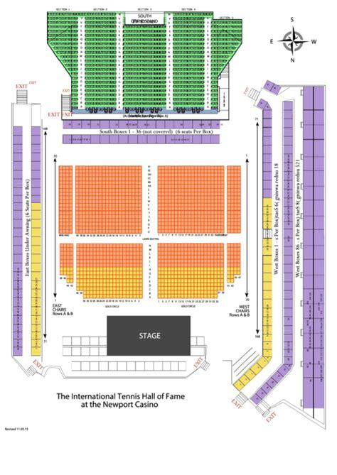 detailed seating chart newport jazz festival printable