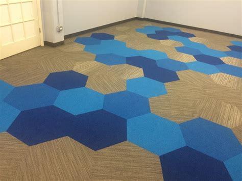 hexagon carpet tile senior living center chicago product shaw contract
