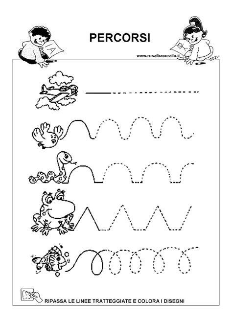 disegni di bambini di 4 anni e mezzo disegni bimbi 4 anni schede di pregrafismo da stare