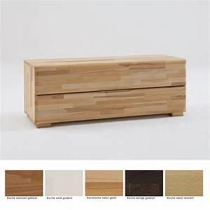 Tv Board Buche Massiv : lowboard blenio 3 120x46x45cm buche massiv farbe nach wahl schubkasten tv board ebay ~ Bigdaddyawards.com Haus und Dekorationen