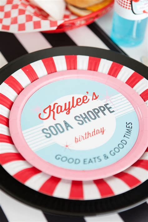 karas party ideas retro soda shoppe birthday party kara