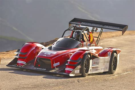 electric mitsubishi miev evolution iii finishes pikes