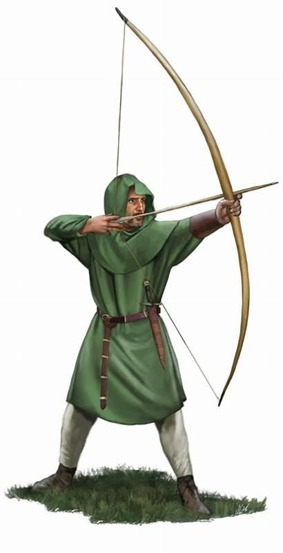Archer Middle Ages Deviantart Medieval Sherwood Fantasy
