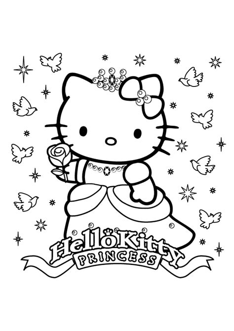 kitty coloring pages christmas wallpapers