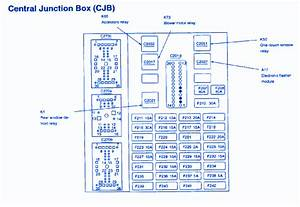 Mercury Sable Ks Premium 2008 Main Fuse Box  Block Circuit Breaker Diagram  U00bb Carfusebox