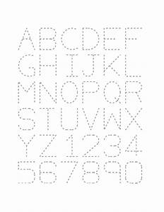 free traceable alphabet worksheets kiddo shelter With large tracing letters