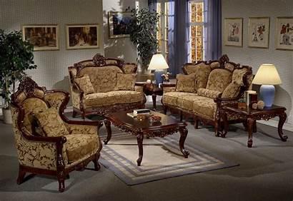 Furniture Italian Sofa Living Sets Wood Rooms
