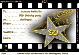 Surprise Birthday Invite Templates Free Free Printable 60th Birthday Invitations 60th