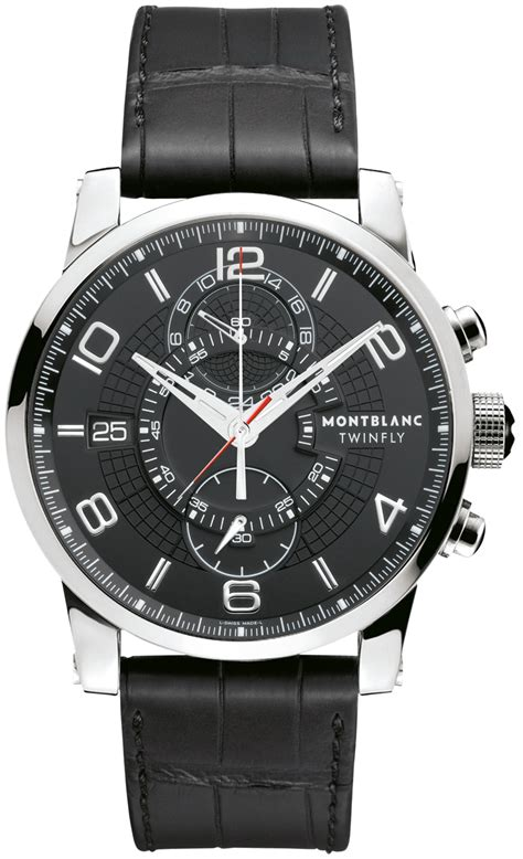 105077 montblanc timewalker twinfly 105077 montblanc timewalker twinfly chronograph mens watches