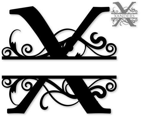 "We have 1681 free letter vector logos, logo templates and icons. ""X"" Split Monogram | Monogram letters, Cricut monogram ..."