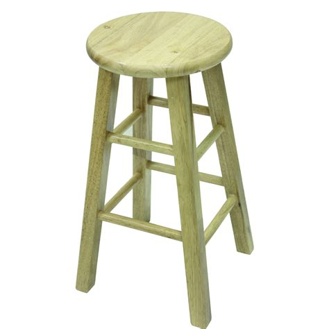 walmart bar stools beech wood bar stools 30 quot set of 2 natural walmart com