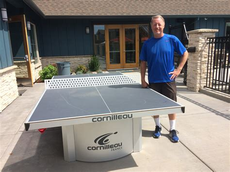 most expensive table tennis table cornilleau 510 pro outdoor table review