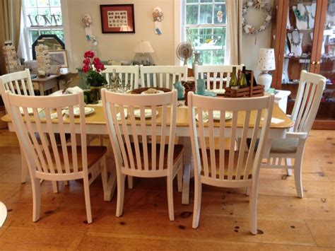 large maple dining table and chairs simply vintage of