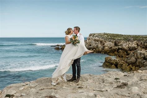 elise tysons romantic diy beach wedding