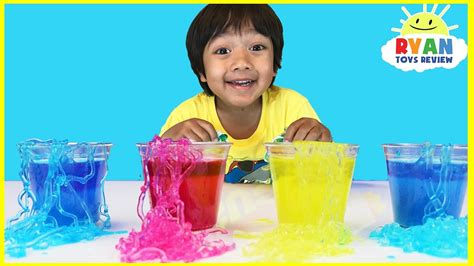 instant worms polymer science experiments  kids