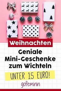 Geschenke Für 5 Euro : unter 15 euro kleine geschenke f r den adventskalender und zum wichteln geschenkideen last ~ Eleganceandgraceweddings.com Haus und Dekorationen