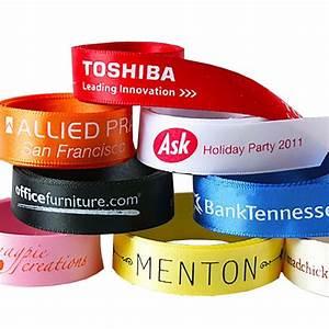#1 Custom Printed Ribbon, Corporate Logo Branded Ribbon