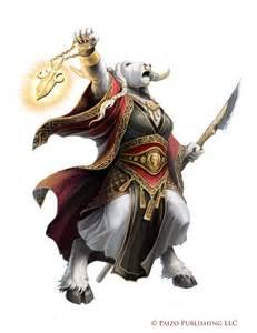 Pathfinder Minotaur Character Female