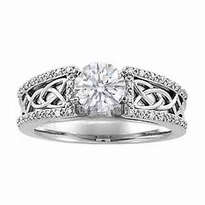 Gorgeously designed celtic diamond wedding rings for your for Celtic diamond wedding rings