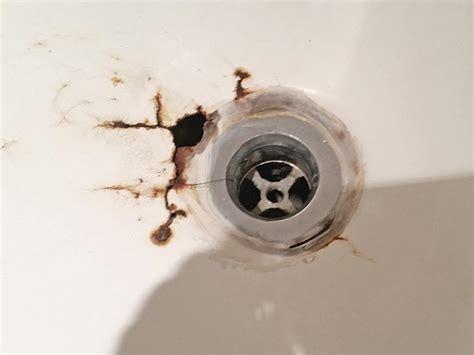 fix hole  porcelain tub  pictures  hole