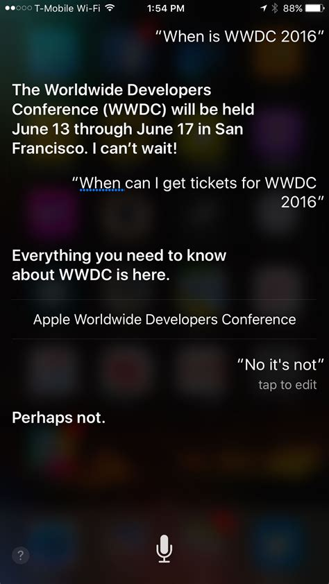 apple s wwdc 2016 starts june 13th according to siri the verge