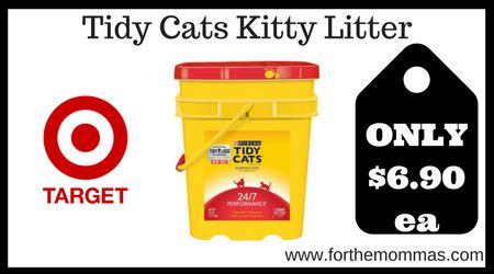 tidy cat coupons target tidy cats kitty litter only 6 90 reg 13