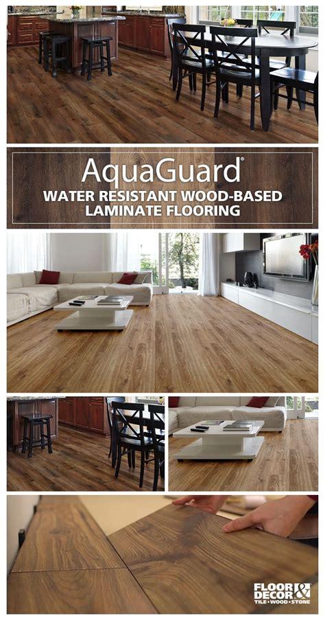 aquaguard   water resistant laminate
