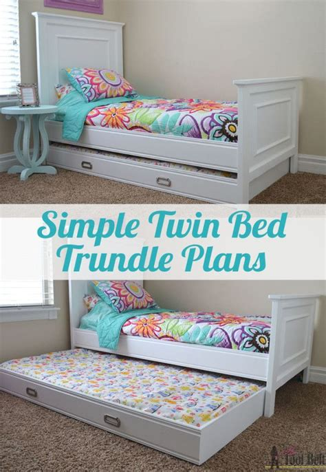 simple twin bed trundle twin trundle bed girls trundle