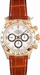 Rolex Serial Numbers Rolex Daytona White Dial Leather Band 16518