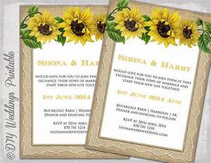 country wedding invitation template quotrustic sunflower With wedding invitation templates with sunflowers