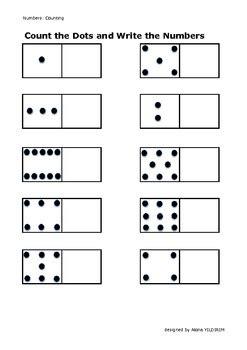 count  dots  write  number  elena yildirim tpt