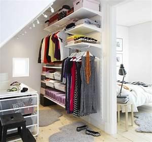 Kleiner Kleiderschrank Ikea : begehbarer kleiderschrank planen 50 ankleidezimmer ~ Watch28wear.com Haus und Dekorationen