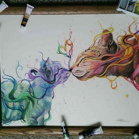mind blowing watercolor drawings by dany lizeth 99inspiration