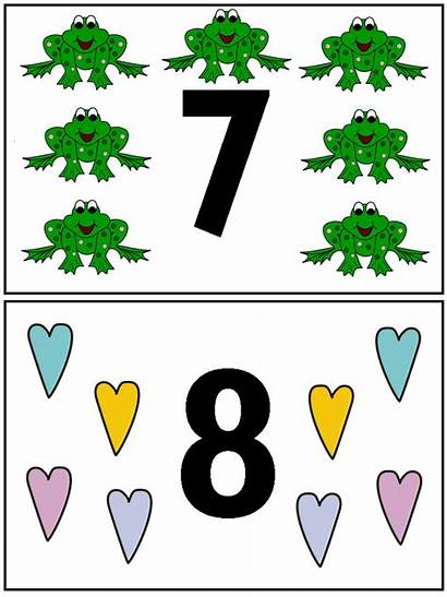 Numbers Number Clipart Clip Cliparts Printable Objects